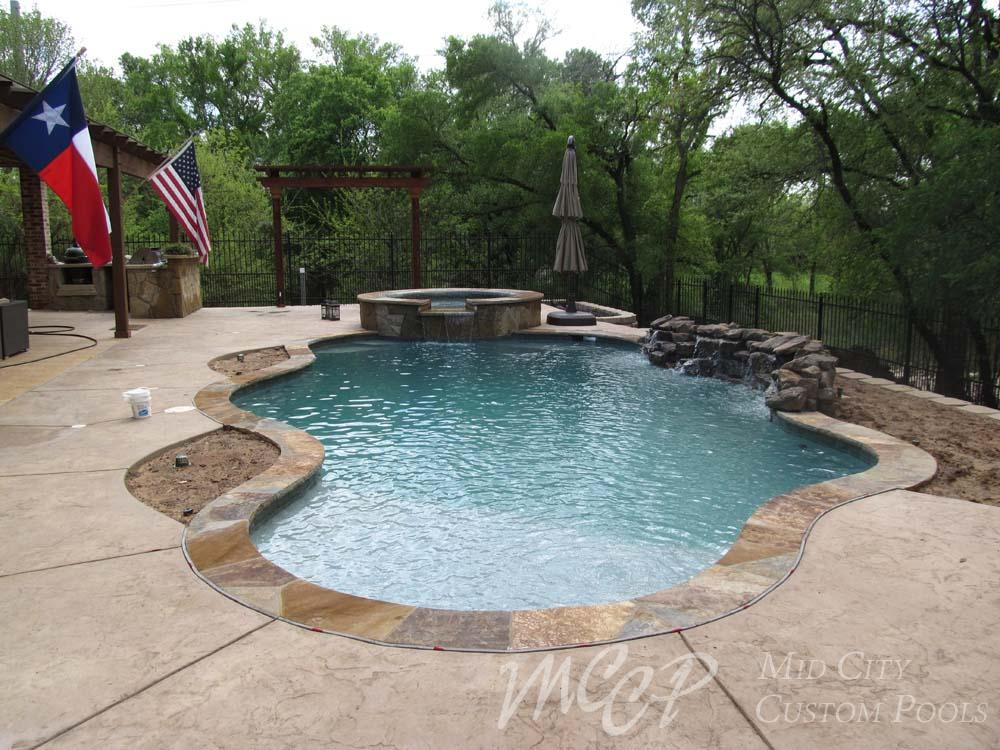 Freeform Swimming Pool Gallery Forth Worth Southlake Dfw Tx