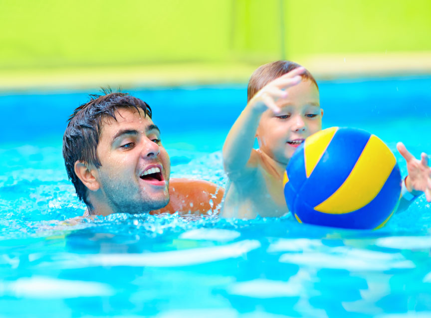 Safe Pool Games for Kids - Mid City Custom Pools