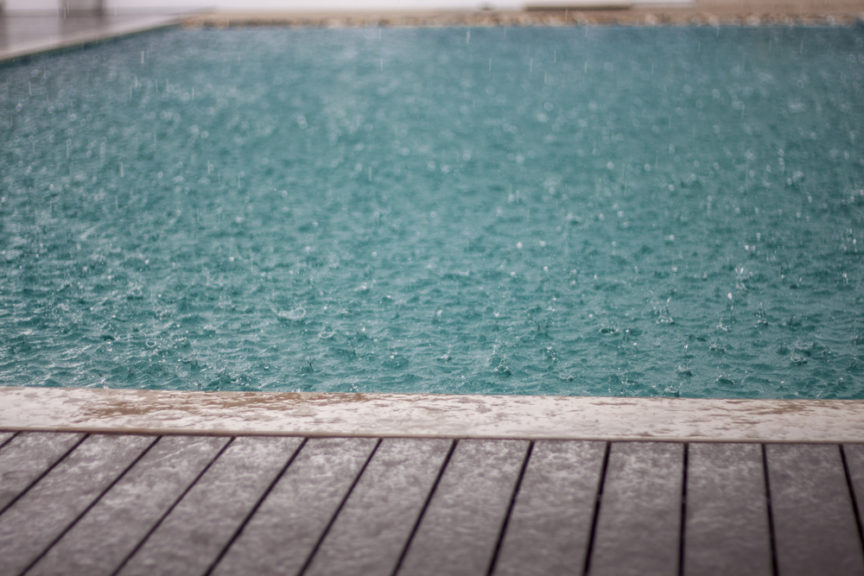 What Rain Can Do to Your Pool - Mid City Custom Pools