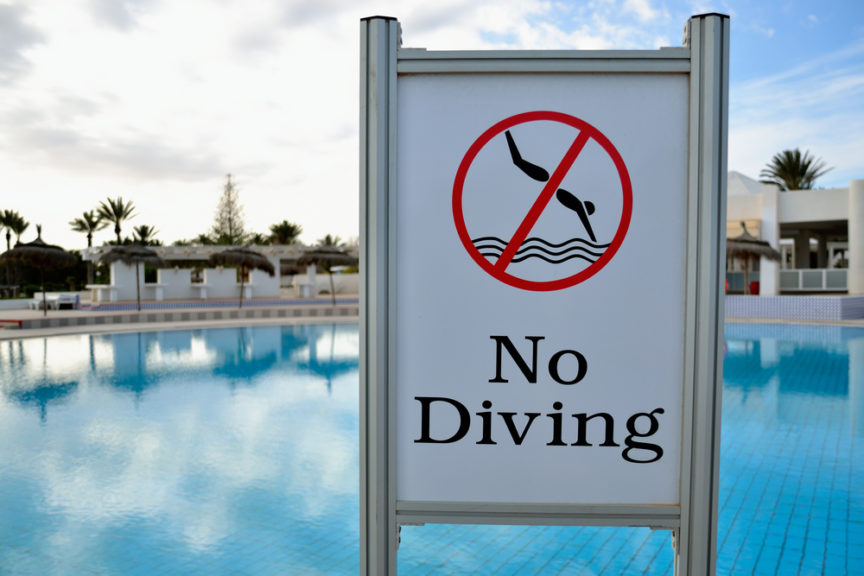 The Dangers of Diving - Mid City Custom Pools